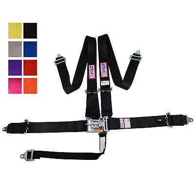 Rjs Racing 5 Pt Sfi 16.1 Latch & Link Pull Up Lap Belt Floor Harness Any Color