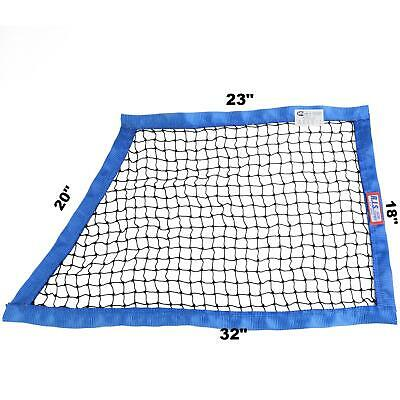 Rjs Racing Sfi 27.1 String Oblong Window Net Blue