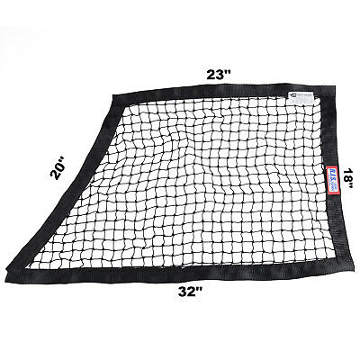 Rjs Racing Sfi 27.1 String Oblong Window Net Black