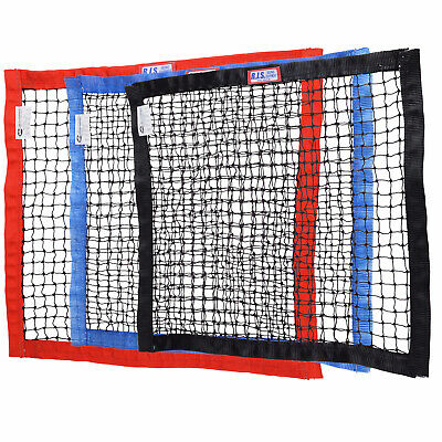 "RJS RACING SFI 27.1 STRING WINDOW NET 18"" x 24"" CHOOSE BLACK BLUE OR RED"