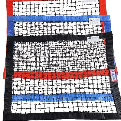 "RJS RACING SFI 27.1 STRING SQUARE WINDOW NET 24"" x 24"" CHOOSE BLACK BLUE OR RED"