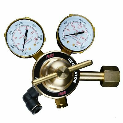 Rjs C02 Racing Air Regulator Psi Regulator Tank And Line Pressure Gauges Cga320