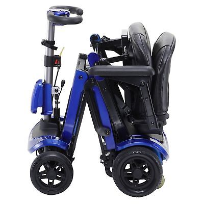 """New Fold Up Scooter That Fits In Your Car"""" The Flex By Drive Medical"""""""
