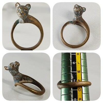 Very Old Beautiful Lovely Animal Stunning Ring    # A