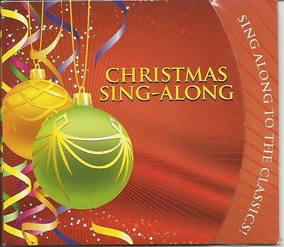 Christmas Sing-Along To The Classics Jolly Holiday Season Festive Music Cd