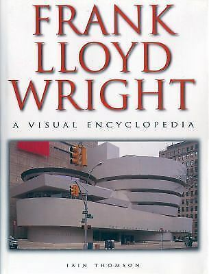Lot of 2 FRANK LLOYD WRIGHT: A Visual Encyclopedia by Iain Thomson w/Bonus DVD