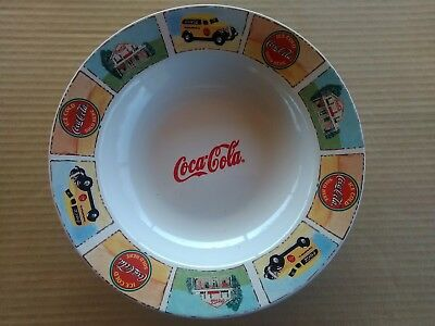 "Coca Cola 9"" Salad Plate by Gibson - Good 'Ole Days GREAT CONDITION SEE SCANS"