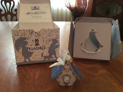 Lladro Ornament #6336 Home Sweet Home, Birdhouse, with Box