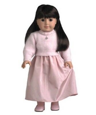 American Girl 2001 Outfit Retired Pink Petal Outfit 1 Shoes Skirt Sweater Truly
