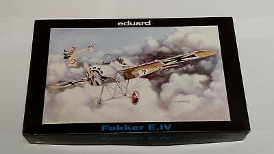 Eduard 7024 Fokker E. IV German Open Cockpit Air Fighter WWI 1.Weltkrieg 1:72