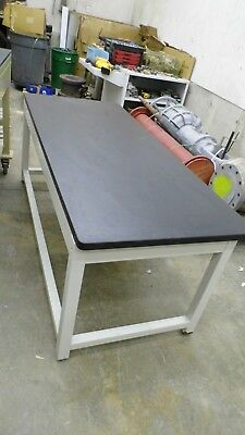 "72"" X 29.75"" X 27.75"" Tall Laminate Top Laboratory Bench/table"