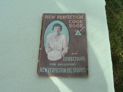 Vintage Cook Book & Directions for Operating New Perfection Oil Stoves