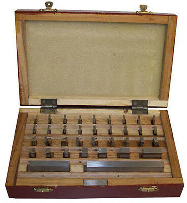 36 PC SQUARE SAE PRECISION GAUGE Block Grade B 0.05 - 4