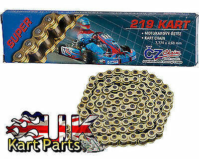 KART 106 Link CZ 219 Kart Racing Chain Best Price On Ebay Top Quality