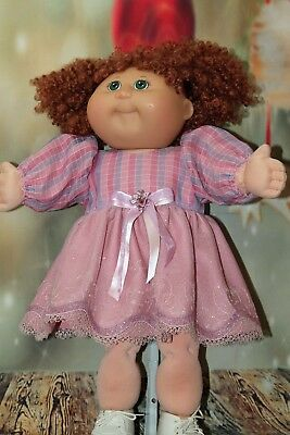 """Cabbage Patch Doll Cloths- Dress and panties - Pink - 20"""" doll"""