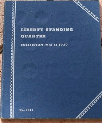 STANDING LIBERTY QUARTER  COLLECTION 15 COINS *VERY NICE in WHITMAN ALBUM*
