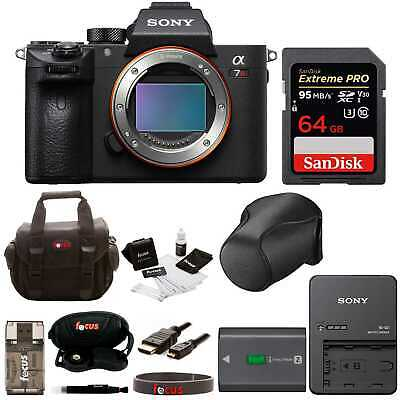 Sony Alpha a7RIII Mirrorless Digital Camera (Body Only) w/ 64GB SD Card
