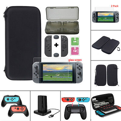 For Nintendo Switch Carrying Bag Case/Glass Film/Controller Grip Accessories