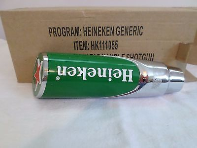 New Heineken Red Star Shotgun Beer Keg Tap Handle NIB Mint
