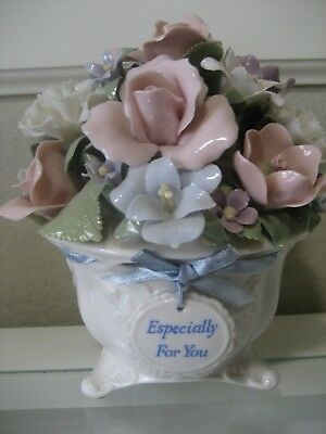 "San Francisco Music Box Co. Anna Rosa Collection ""You Light Up My Life"" Bouquet"