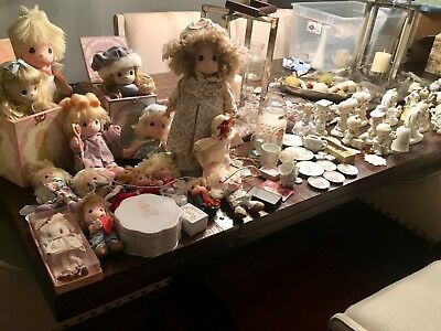 Precious Moments Large Lot of 65 Pieces plus!