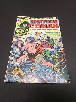 MARVEL COMICS GiANT SIZE CONAN THE BARBARIAN Vol.1 No.5 1975