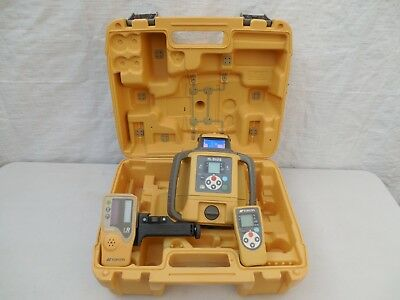 Topcon RL-SV2S Dual Slope Laser Level With LS-80L Receiver