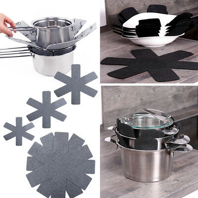 3x Placemat Pot Pan Protector Heat Resistant Non-woven Mat Table Insulation Pads