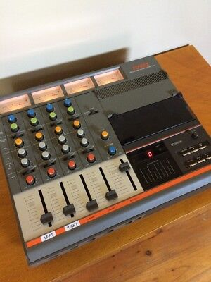 Vintage FOSTEX 4 Channel Mixer/Recorder Model 250 Made In Japan Great Condition