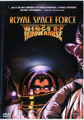 Royal Space Force - The Wings Of Honneamise - 1987 Animated Dvd