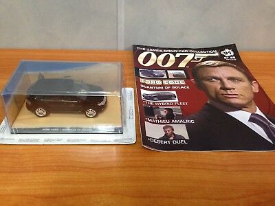 James Bond Car Collection No  Ford Edge Quantum Of Solace Magazine
