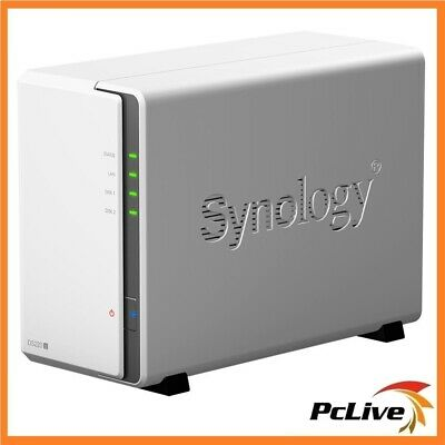 Synology DiskStation DS218J 2-Bay NAS Server Cloud RAID Network Storage Backup