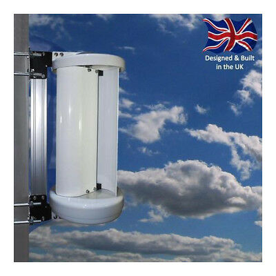 Leading Edge LE-v50 Vertical Axis Wind Turbine - 12V/24V - UK MANUFACTURER