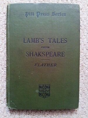 Selection of Tales from Shakespeare by Charles & Mary Lamb ed J H Flather 1899