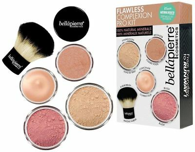 Bellapierre Cosmetics Flawless Complexion Kit Medium New Genuine