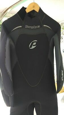 "Mens, Wetsuit XL; Semi-dry, Probe 7mm i-Flex ""Super Stretch"""