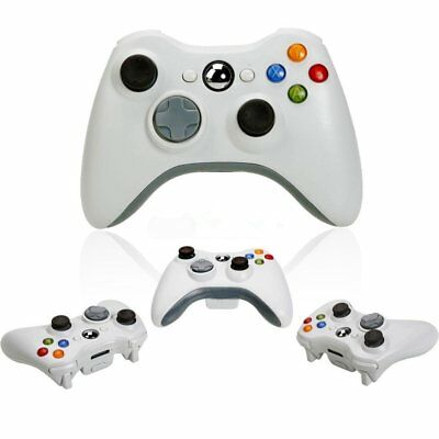 Official Microsoft Xbox 360 Pure White Wireless Controller - Brand New OY