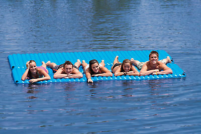 Gang Plank Lounging Inflatable Island HD Mattress Raft Lilo Tube for beach pool