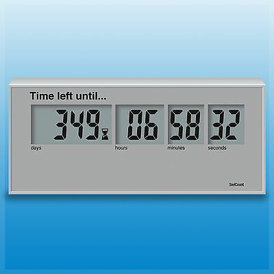 Countdowner, Countdown Clock, Countdown Timer until 2000 days! Battery included