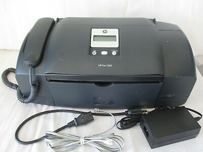 HP FAX 1250 Fax Machine / Copier  (Color) Series - WORKS WELL !