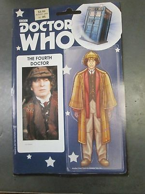 DOCTOR WHO FOURTH DOCTOR 5 PREVIEWS UK ACTION FIGURE EXCLUSIVE Titan Comics HOT