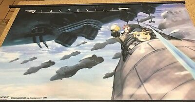 """Fabric Scroll Hanging Poster/Banner (43"""" x 31"""") ANIME GONZO Last Exile"""