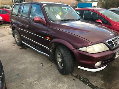 Daewoo Musso 2.9TDi Mercedes 5 Cylinder Engine For Spares or Repair