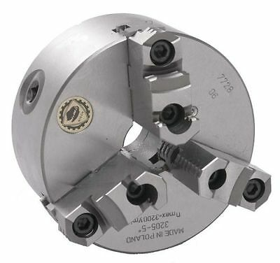 """8"""" Bison 3 Jaw Lathe Chuck Direct Mount D1-6 Spindle"""