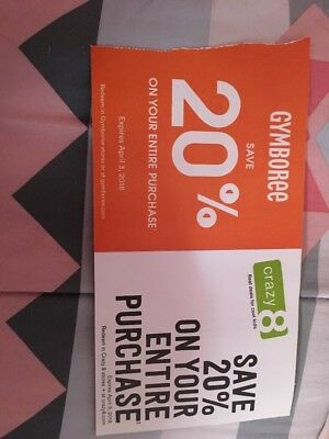 Crazy8 And Gymboree Coupons