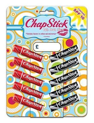 Chapstick Original / Strawberry, Protect & Moisturise, Multi Pack, SPF 10