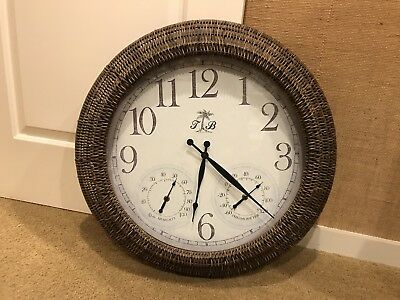 Tommy Bahama Wall Clock