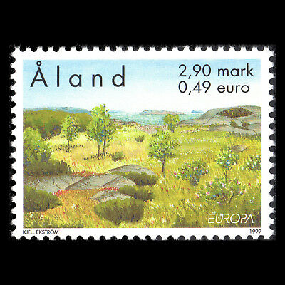 """Aland 1999 - EUROPA Stamps """"Nature Reserves and Parks"""" - Sc 157 MNH"""