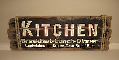 Large KITCHEN Wood SIGN*Restaurant/Bakery/Diner*Primitive French Country Decor