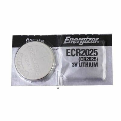 1 Pc FRESH Energizer CR2025 ECR 2025 3V LITHIUM Coin Button Battery Fast Shiping